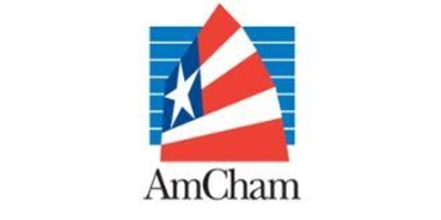The American Chamber of Commerce in Hong Kong logo